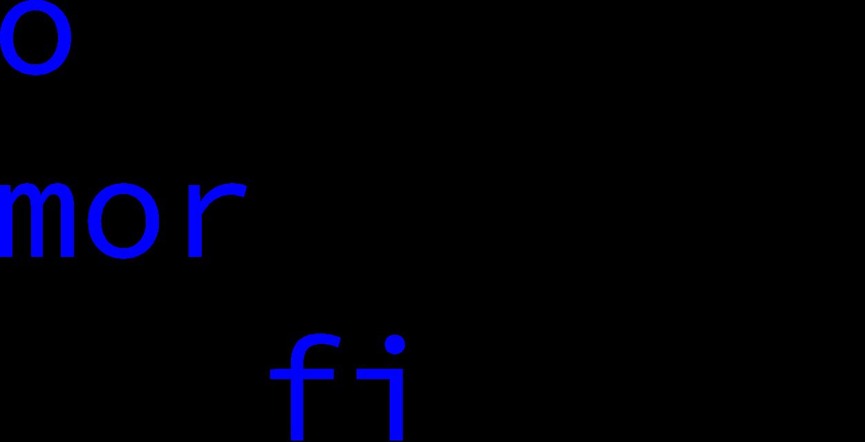 open morphology of finnish